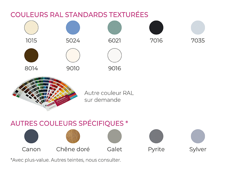 Couleurs andromede