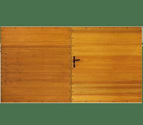 portail bois pleins - dive - Sothoferm