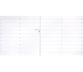 portail pvc ajourés - estelat - Sothoferm