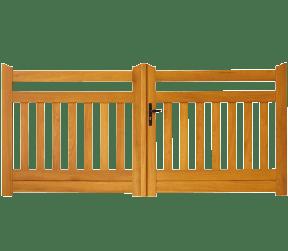 portail en bois ajourés - gartempe - Sothoferm