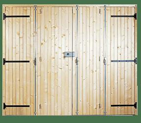 porte de garage en bois promethée - Sothoferm
