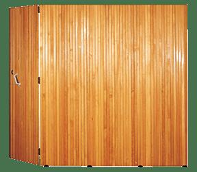 porte garage bois saturne