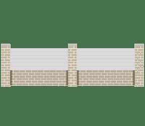 clôtures pvc - sisca - Sothoferm