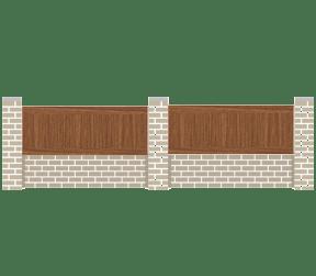 clôtures bois - viette - Sothoferm