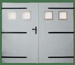 porte de garage aluminium - venus - Sothoferm
